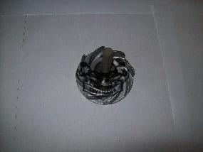 axe de rotor ou turbine pompe a eau v max 1200
