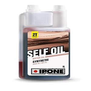 Huile Ipone  self oil synthetic 1 litre 2 temps