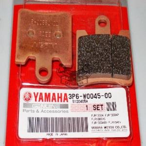 FJR 1300 jeu de plaquette de frein 2006-2007 d'origine
