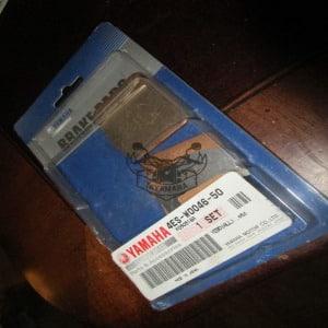 yz 80 jeu de plaquette de frein arriere 2000-2001 d'origine